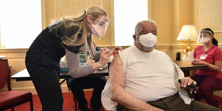 People Taking Covid Vaccine (Photo from Flickr)